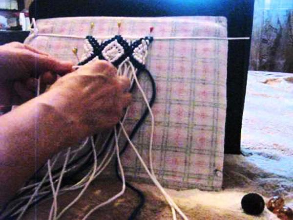 Видеоуроки плетения макраме для
